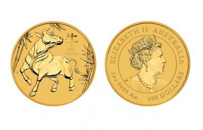 Ox 2021 1 Oz - Zlatá mince