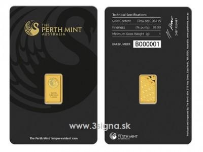 Perth Mint 1g - Zlatý slitek