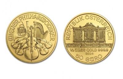 Philharmoniker 1/2 Oz - Zlatá mince