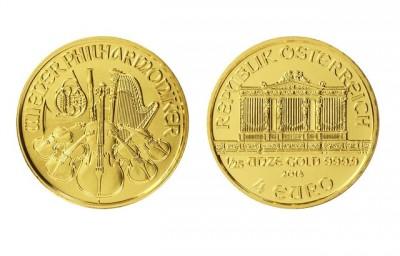 Philharmoniker 1/25 Oz - Zlatá mince