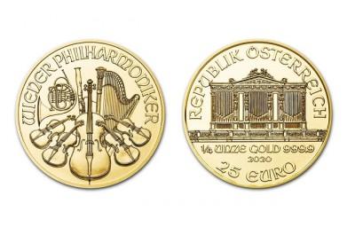 Philharmoniker 1/4 Oz - Zlatá mince