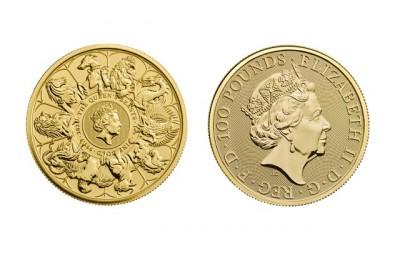 Queens Beasts Completer 2021 1 Oz - Zlatá mince